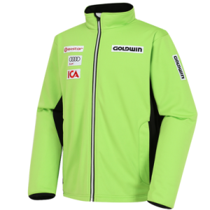 골드윈 스키복GOLDWIN TEAM MIDDLER JACKET_LIME