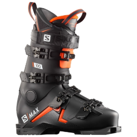 1819 SALOMON S/MAX 100 BLACK/ORANGE/WHITE (살로몬 에스맥스 100)