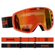 2021 SALOMON GOGGLES AKSIUM FLAME/UNI MID RED (2021 살로몬 고글)