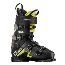 2021 SALOMON SKI BOOTS S/PRO 110 BLACK/ACID GREEN/WH (2021 살로몬 스키부츠)