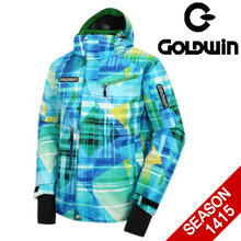 골드윈 데모 프린트 자켓GOLDWIN DEMO PRINT JACKET-GSJ2NF59 BLUE
